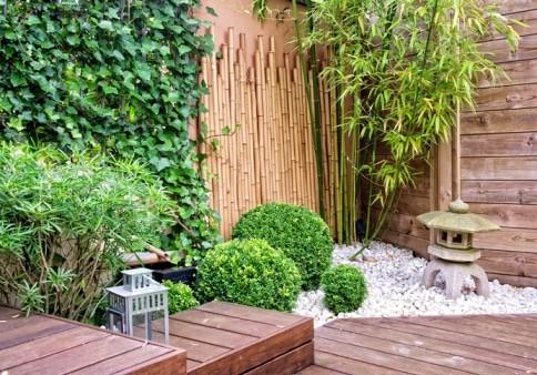 עיצוב גן יפני בישראל